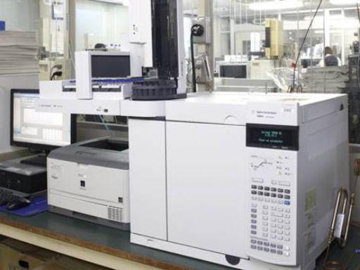 機器分析(GC-ECD)測定風景